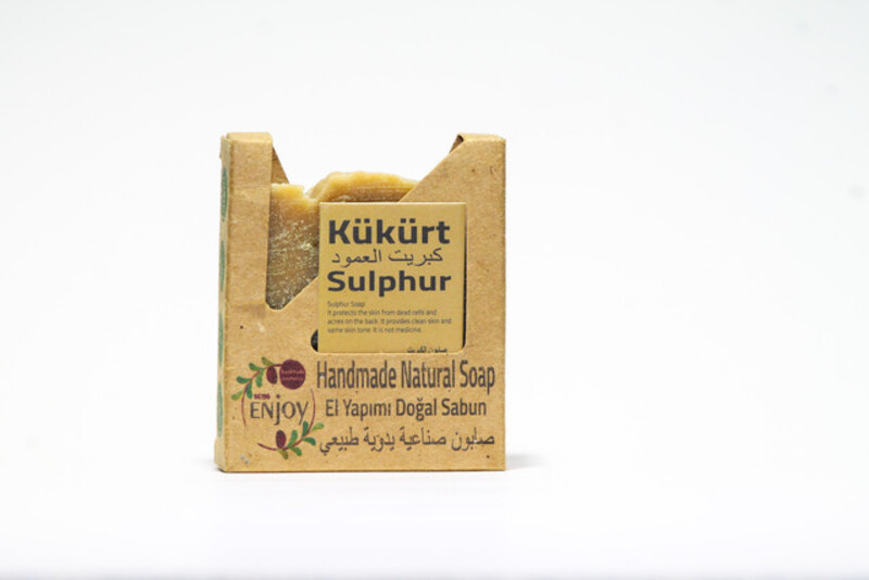 Suds Enjoy Sulphur Natural Soap, 100 gm