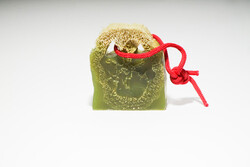 Suds Enjoy Olive Loofah Glycerin Natural Soap, 180 gm