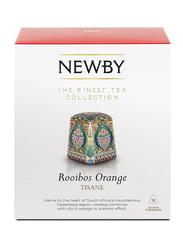 Newby Rooibos Orange Tisane, 15 Silken Pyramids, 37.5g