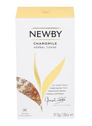 Newby Chamomile Herbal Tisane, 25 Tea Bags, 50g