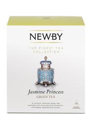 Newby Jasmine Princess Green Tea, 15 Silken Pyramids, 37.5g