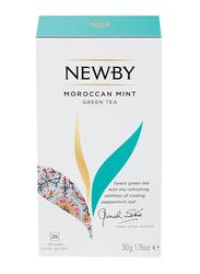 Newby Moroccan Mint Green Tea, 25 Tea Bags, 50g