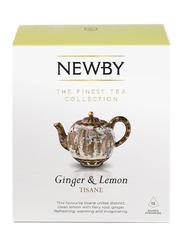 Newby Ginger & Lemon Tisane, 15 Silken Pyramids, 37.5g