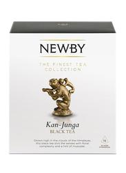 Newby Kan-Junga Black Tea, 15 Silken Pyramids, 37.5g