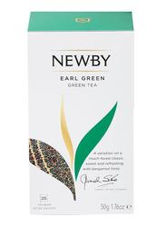 Newby Earl Green Tea, 25 Tea Bags, 50g