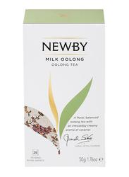 Newby Milk Oolong Tea, 25 Tea Bags, 50g