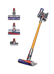 Dyson Absolute Stick Cord Vacuum Cleaner, V8, Yellow/Silver/Red