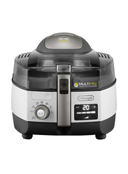 Delonghi 1.7L Low-Oil Fryer and Multicooker, 1400W, FH 1396/1, White/Black