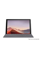 "Microsoft Surface Pro 7 2-in-1 Laptop, 12.3"" Touch Display, Intel Core i7 10th Gen 1.3GHz, 512GB SSD, 16GB RAM, Intel Iris Plus Graphics, Win10 Pro, EN-AR, PVU-00020, Black"
