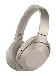 Sony WHH900N/N Wireless Over-Ear Noise Cancelling Headphones, Pale Gold
