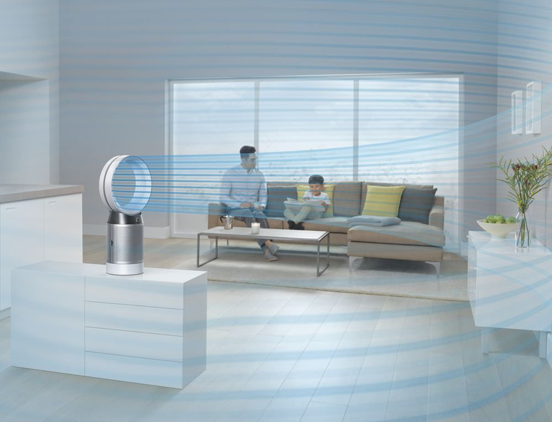 Dyson Pure Cool Air Purifier, Wi-Fi & Bluetooth Enabled, Model DP04, White/Silver