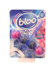 Bloo Colour Active Fresh Flowers Toilet Rim, 50g