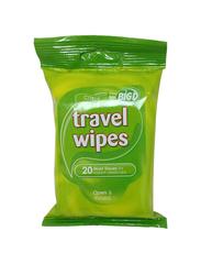 Big D Citrus Travel Wipes, 20 Sheets