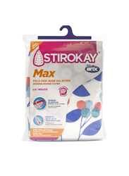 Stirokay Max Ironing Board Cover, 140 x 50cm, Blue/Red/White