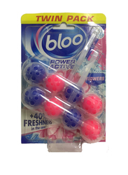 Bloo Flowers Twin Pack Power Active Toilet Balls, 50g