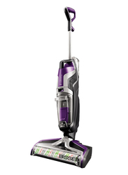 Bissell Crosswave Cordless Upright Vacuum Cleaner, 2588E, Purple