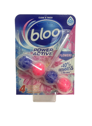 Bloo Flowers Power Active Toilet Balls, 50g