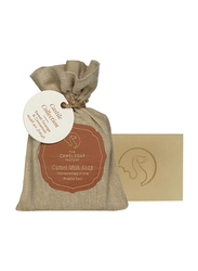 The Camel Soap Factory Castile Collection Sweet Orange & Cinnamon Handmade Soap Bar, 95gm
