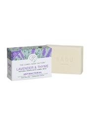 The Camel Soap Factory SADU Naturals Lavender & Thyme Antibacterial Soap Bar, 140gm