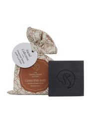 The Camel Soap Factory Facial Collection Charcoal Detox Handmade Soap Bar, 115gm