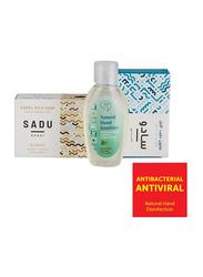 The Camel Soap Factory Sadu Collection Creek Natural Hand Sanitizer Pack, 3 Pieces