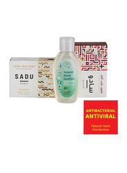 The Camel Soap Factory Sadu Collection Jumeirah Natural Hand Sanitizer Pack, 3 Pieces