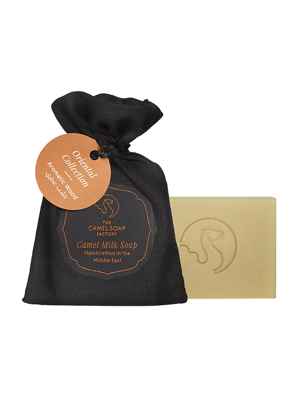 The Camel Soap Factory Oriental Collection Aromatic Wood Handmade Soap Bar, 95gm