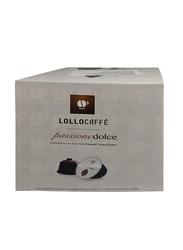 Lollo Passione Dolce Decaffeinated Espresso Coffee Capsules, Dolce Gusto Compatible, 16 Capsules