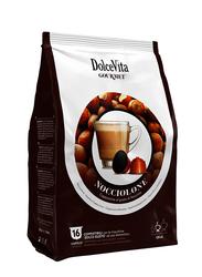 Dolce Vita Hazelnut Latte (Nocciolone) Coffee Capsules, Dolce Gusto Compatible, 16 Capsules