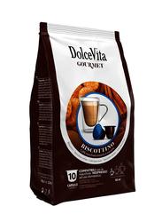 Dolce Vita Biscottino Espresso & Cinnamon Biscuit Flavor Coffee Capsules, Nespresso Compatible, 10 Capsules