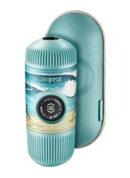Wacaco 80ml Nanopresso Summer Journey Espresso Machine with Case, Blue