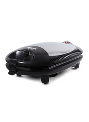 Arshia 2-Slice Sandwich Maker, 1400W, SM151, Black