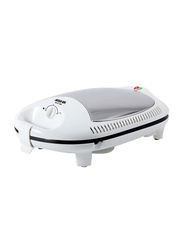 Arshia 2-Slice Sandwich Maker, 1400W, SM151, White