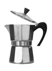 Rossetti 6 Cup Mokanetto Espresso Maker, 8051, Silver