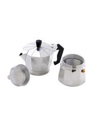Rossetti 3 Cup Mokanetto Espresso Maker, 8050, Silver