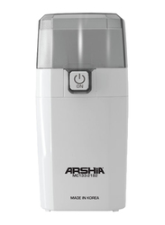 Arshia 0.3L Coffee Grinder, 150W, MC133, White