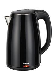 Arshia Electric Cordless Kettle, 1800W, EK1401, Black
