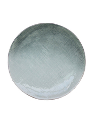 Urban Nature Culture 21.6cm Stoneware Malachite Round Plate, 104733, Green
