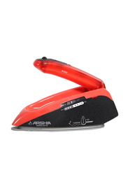 Arshia Travel Iron 1085W, SI069, Red/Black