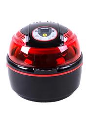 Arshia 10L Air Fryer, 1300W, AF116, Red/Black
