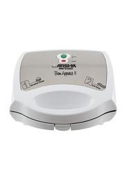 Arshia 2 in 1 Electric Sandwich Maker, 1000W, SM612, White