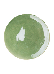 Urban Nature Culture 28cm Costa Verde Stoneware Round Plate, 104361, Green