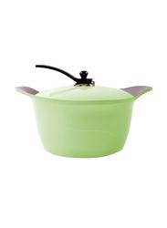 Arshia 28cm Ceramic Casserole, 65 x 36 x 53cm, Green