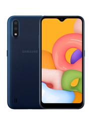Samsung Galaxy A01 16GB Blue, 2GB RAM, 4G LTE, Dual Sim Smartphone, UAE Version