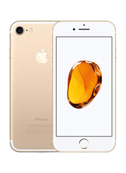 Apple iPhone 7 32GB Gold, With FaceTime, 2GB RAM, 4G LTE, Single Sim Smartphone