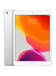 Apple iPad 2019 7th Gen 128GB Silver 10.2-inch Tablet, With FaceTime, 3GB RAM, Wi-Fi Only