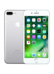 Apple iPhone 7 Plus 32GB Silver, With FaceTime, 3GB RAM, 4G LTE, Single Sim Smartphone