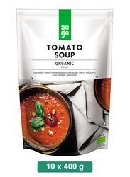 Auga Organic Creamy Tomato Soup, 10 Packets x 400g