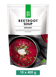 Auga Organic Beetroot Soup, 10 Packets x 400g