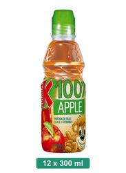 Kubus 100% Apple Juice, 12 Bottles x 300ml
